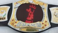 WWE CHAMPION CHAMP Mon Nite WRESTLING BELT LIGHTS UP WITH SOUND MATTEL 2010