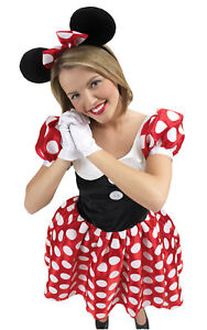 Disney 'Minnie Mouse' Female Dress Up Fancy Dress Costume