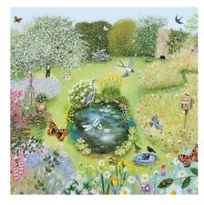 Wildlife Garden Greetings Card with White Envelope Museum Galleries Collection