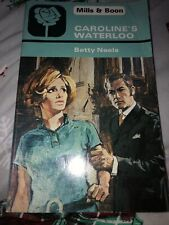 Caroline's Waterloo Betty Neels Paperback Book Damaged Front Cover Mills & Boon