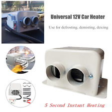 DC 12V 1000W Dual Vent Car Fan Air Heater Demister Defroster Heating Windscreen