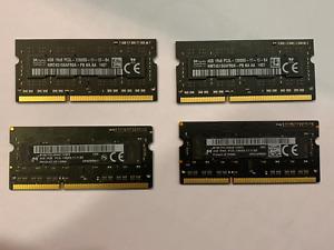 Apple 16GB 4x4GB RAM Memory DDR3 PC3L-12800S HMT451S6AFR8A-PB iMac A1418/A1419