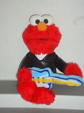 ST1737 Collectable Elmo the Guitarist 2007 Plush Toy