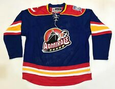 Reebok CCM AHL Norfolk Admirals Hockey Jersey Blue Adult XL Canada Sewn