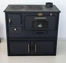 de leña Horno de leña con horno y CAST Tapa de hierro prometey 8KW - Praktik