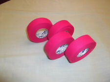 """Hot Pink Hockey Tape 4 rolls 1""""x25yds. * First Quality *"""
