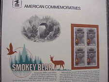 32 USPS American Commem Panels  each w a  block of 4 stamps starts at FaceValue