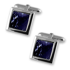 Gemelli Argento Sterling Lapis