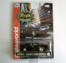 AUTO WORLD BATMOBILE, Classic TV Series BATMAN 4Gear Chassis Ho Slot Car AW R-20