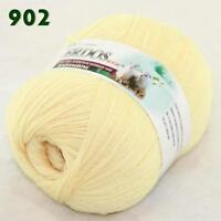 Sale 1 ball LACE Soft Crochet Acrylic Wool Cashmere Wrap Hand Knitting Yarn 02