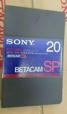 SONY  BCT-20Ma 20 MINUTE SMALL CASSETTE BETA SP TAPE