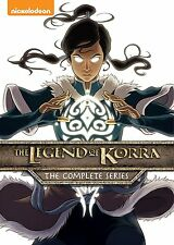 Avatar The Legend of Korra Complete Series Book 1-4 (1 2 3 4) NEW 8-DISC DVD SET