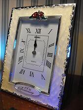 40TH WEDDING ANNIVERSARY GIFT  PRESENT RUBY WEDDING CLOCK GIFT present 40TH GIFT