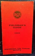 Vintage RCA TV 1960 Fieldmen's Guide ENTERTAINMENT TUBE PRODUCTS Marketing