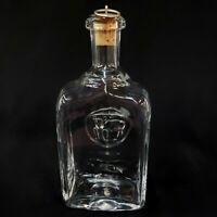 Decanter Erik Hoglund Bull Horse Kosta Boda Liquor Sweden Crystal Bar Rare Old