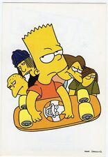 figurina THE SIMPSONS PANINI ANNO 1999 NUMERO 90 NEW