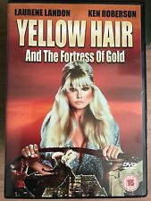 Laurene Landon, Ken Robertson YELLOW HAIR AND THE FORTRESS OF GOLD ~ 1984 UK DVD