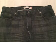 Levi's 505 Men's STRAIGHT Fit Colored Semi Distressed Denim Jeans Size 38 x 34