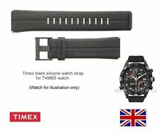 Genuine Timex T49865 Silicone Watch Strap Band for Timex Fly-Back Compass Watch