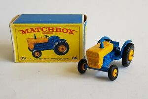 Matchbox Seriers No. 39, Ford Tractor, - Superb Mint Condition.
