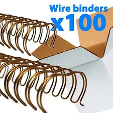 Galaxy Bronze Wire Loop Binding For Binder 64 Mm Pitch 31 X 100