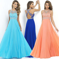 Abendkleid Ballkleid Partykleid Brautjungfernkleid Kleid Lachs B-BC264LA 44