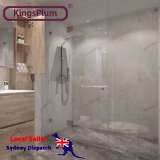 3 Panel Wall Shower Screen10mm thick Safety Glass size Optional Local Seller