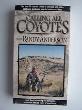 Calling All Coyotes Randy Anderson VHS Video Tape New Sealed