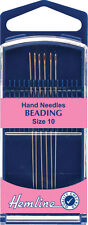 Premium Beading Hand Needles Size 10 Superfine Needles With A Gold Eye