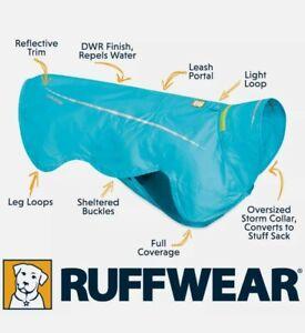 "Ruffwear Windsprinter Jacket Blue Sz  X Small 17-22"" Grith*New Ex Shop."