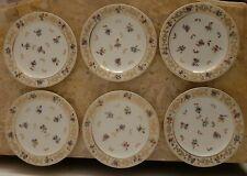6 assiettes a desserts a Fromages en porcelaine de Limoges Raynaud & c°  1 sur 2