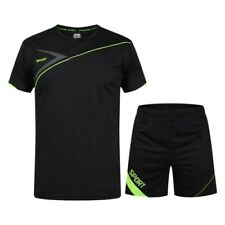 Men Running Fitness Sports Suit Quick-drying Clothes Jersey