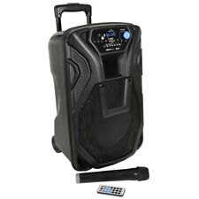 "QTX Busker 10 Portable Active 10"" Bluetooth USB SD PA Speaker System"