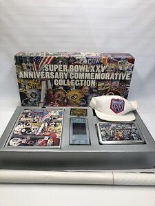 Super Bowl XXV Anniversary Commemorative Collection Box. New York Giants Ticket