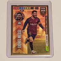 PANINI FIFA 365 Adrenalyn 2020 RARE LIVING LEGEND Lionel Messi #2