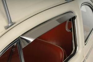 1953-1964 VW Beetle Sedan Door Vent Stainless Steel Sun Shades 303126