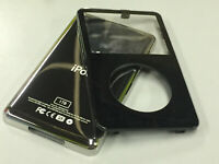 New Black Front Faceplate + 1TB Back Cover Housing for iPod 5th 5.5 Gen Video
