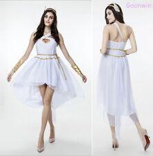 Women Costume Fancy Dress Roman Greek Goddess Toga Party Cosplay