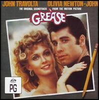 GREASE - SOUNDTRACK CD JOHN TRAVOLTA~OLIVIA NEWTON JOHN~FRANKIE VALLI +++ *NEW*