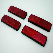 Rear Red Reflectors Trailer Mudguards Plant Tractor Flat Bed Low Loader Markers