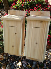 Bat Houses,  Cedar ( 2 pack )