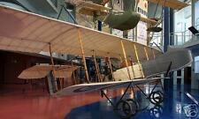 HF-20 Henri Farman Airplane Desktop Wood Model Big New