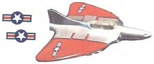 Hubley Delta Wing jet airplane decals (2) sets Paper Decal Reproduction