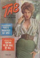 Vintage   pinup digest magazine #028 - JUNE 1962 TAB