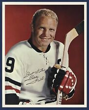 1960s BOBBY HULL Photos lot of (3) Chicago Black Hawks Sporticatures 1968 1969