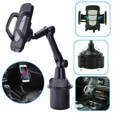 Universal Car Mount Cup Cell Phone Holder Adjustable Gps Stand Cradle For iPhone
