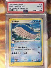 2003 Pokemon EX Ruby & Sapphire 14 Wailord-Holo PSA 9 MInt