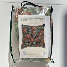 "Permin of Copenhagen Needlepoint Kit Pillow 16""x 16"" Apples #83-5138"