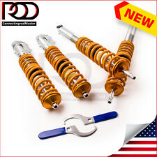 For Volkswagen VW Golf Rabbit MK2 MK3 VR6 JETTA Coilovers Shock Absorbers New