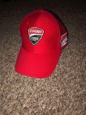 a23b7495c5b Ducati Corse Mens Mesh Trucker Hat Red Adjustable